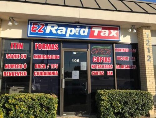 Ez Rapid Tax Multi Service offers professional, friendly and accurate tax preparation service. Find our tax services office location in Carrollton, TX, Farmer's Branch, TX, & Fort Worth, TX.